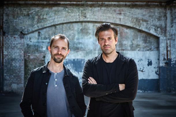 Maarten Baas en Sergio Herman