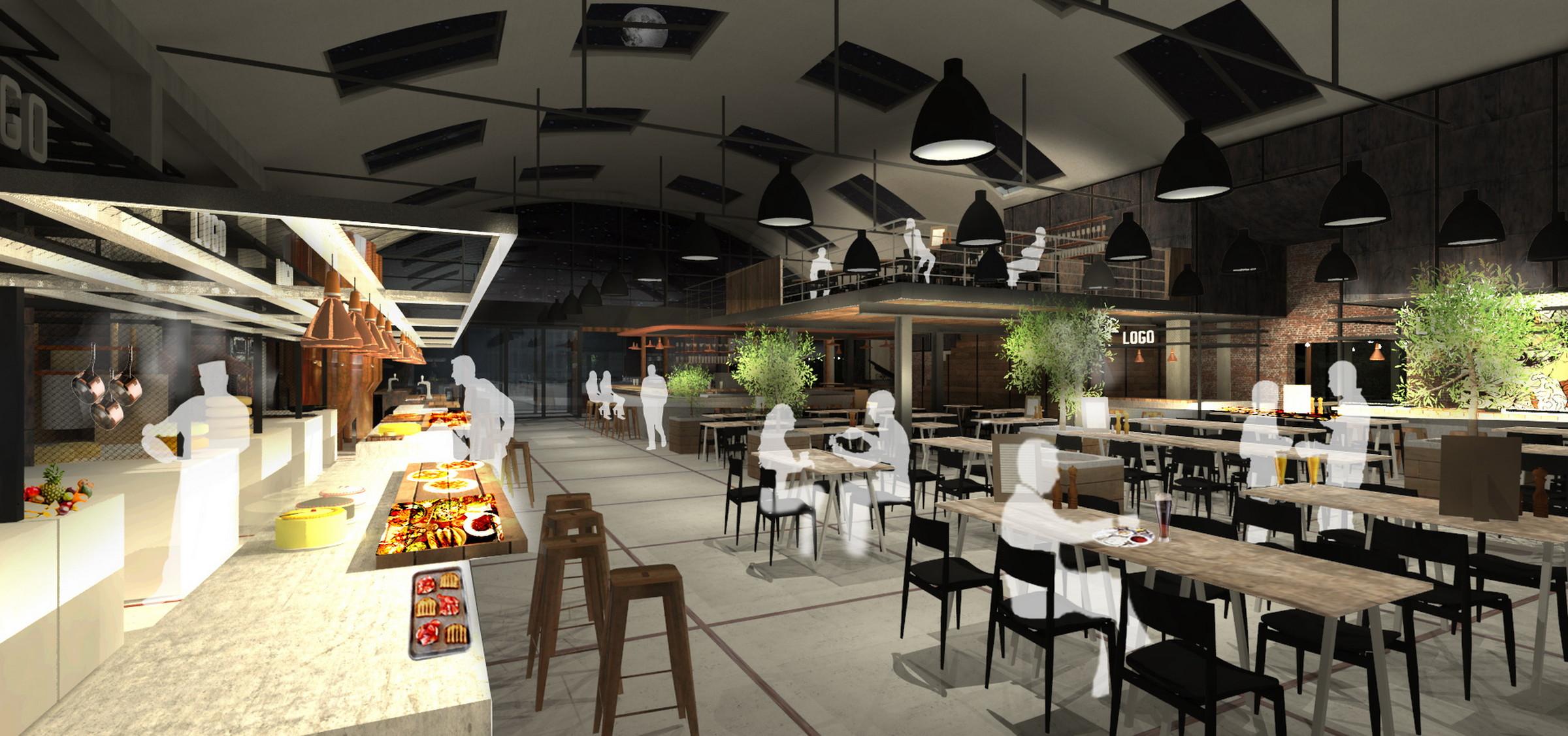 Foodhall Hilversum door Zecc Render Ster van de Week