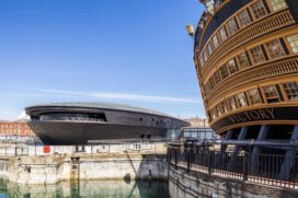 Mary Rose Museum in Portsmouth (GB)