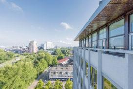Transformatie Elseviergebouw tot studentenhuisvesting