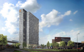 Postillion Hotel op terrein Kauwgomballenfabriek Amsterdam
