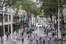 Opening vernieuwde Maria Hilferstrasse in Wenen