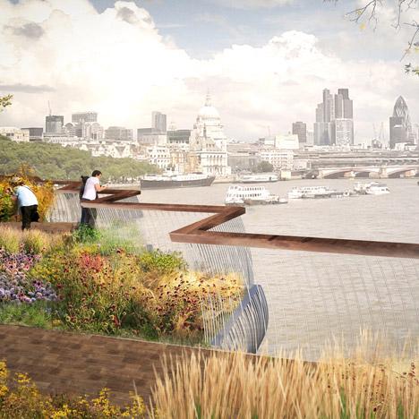 Thomas Heatherwick garden bridge