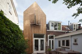 Houten huisje in Utrecht