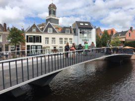 Oplevering Catharinabrug Leiden