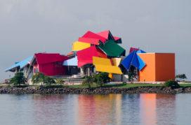 Panama Biomuseo door Frank Gehry