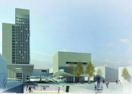 Ontwerp kantoortoren in Gentse stationswijk bekend