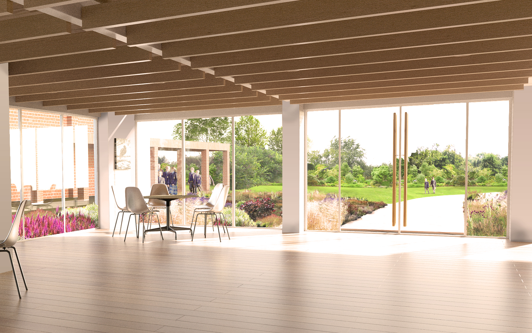 Tate Harmer Blue Forest CranleighSchool Surry Cricketpavilion Render Ster van de Week