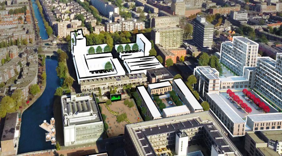 Energiekwartier Den Haag locatie