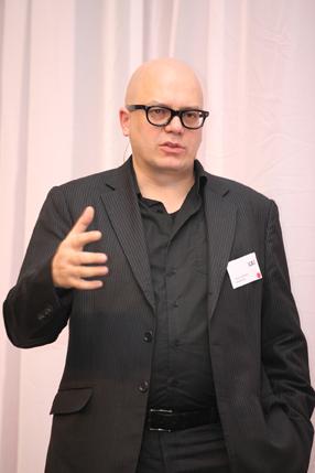 Peter Ippolito tijdens LAi 2010