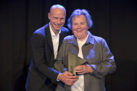 Keynote lezing Riek Bakker, winnaar ARC14 Oeuvre Award