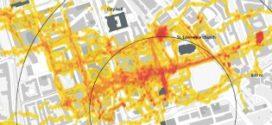 Expositie GPS TRACKING Rotterdamse binnenstad