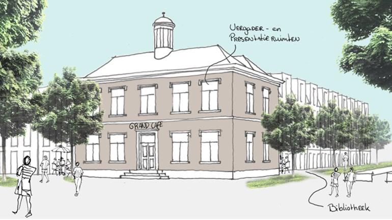 Drie visies voor gemeentehuis Gravenzande.