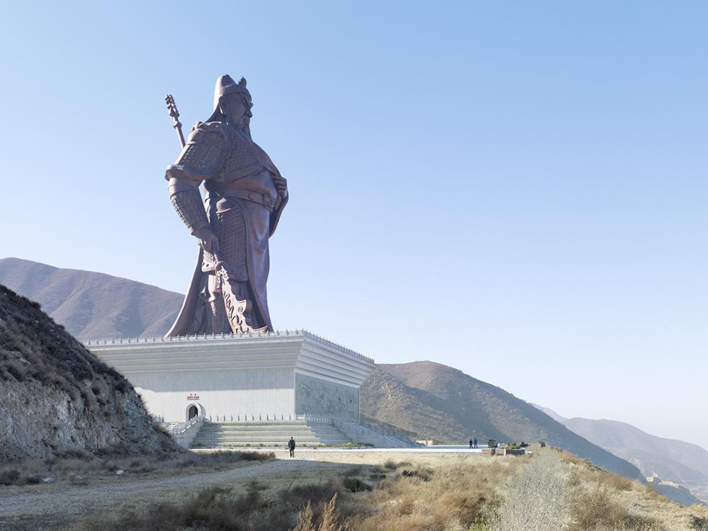 Guan Yu, Yuncheng, China, 2010, blog Jeroen Apers