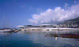 Haventerminal in Salerno door Zaha Hadid Architects