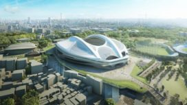 Hadid past ontwerp National Stadium Tokio aan