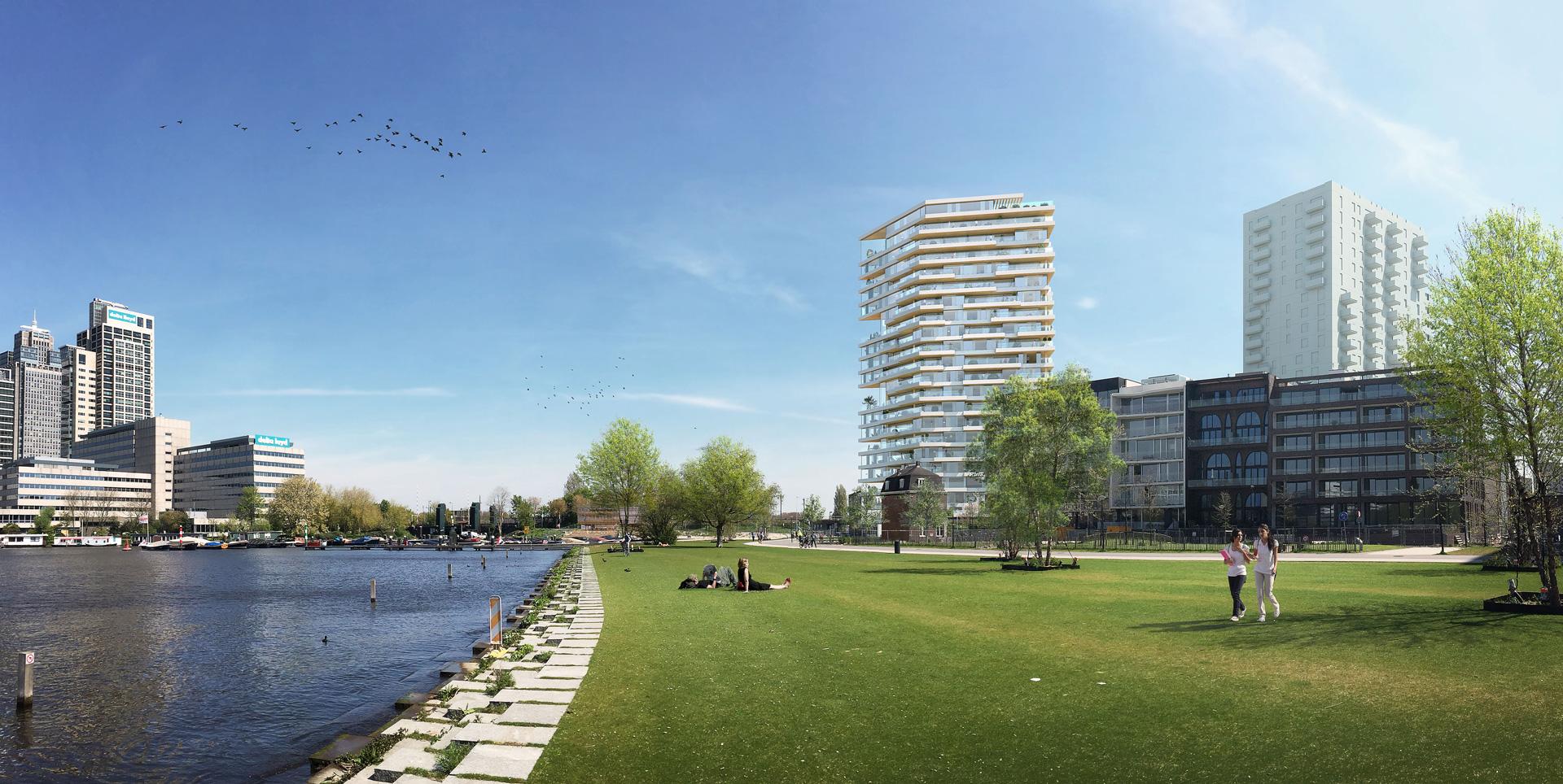 HAUT door Team V Architectuur hoogste houten gebouw van Nederland