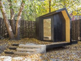 Blog – Writing Pavilion in New York door Architensions