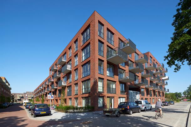 Appartementencomplex Typhoon in Groningen door de Zwarte Hond is de winnaar van de VKG Architectuurprijs Nieuwbouw