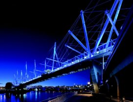 Kurilpa Bridge in Brisbane