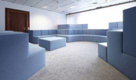 Interieur gebouw voor de Europese Raad door XML en Jurgen Bey