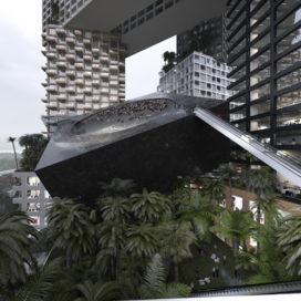 MVRDV ontwerpt verticale stad voor Jakarta