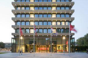 Herbestemming voormalige AMRO-Bank kantoor Amsterdam