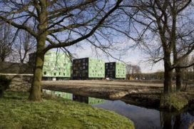 Studententorens in Delft door Mecanoo architecten