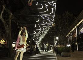 Installatie door UNStudio in Xintiandi (Shanghai)