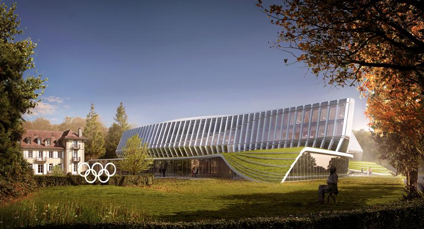 IOC Hoofdkwartier door 3xN