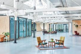 ARC inzending: Hoofdkantoor Fairphone Amsterdam door Melinda Delst Interior Design en studio modderman
