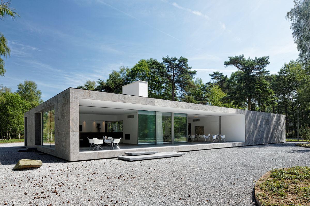 Zwarte parel wint am nai prijs 2012 de architect for Casa minimalista vidrio