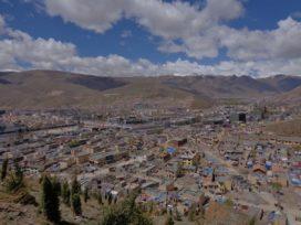 Wederopbouw in Tibet