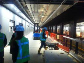 Verslag projectbezoek Noord/Zuidlijn
