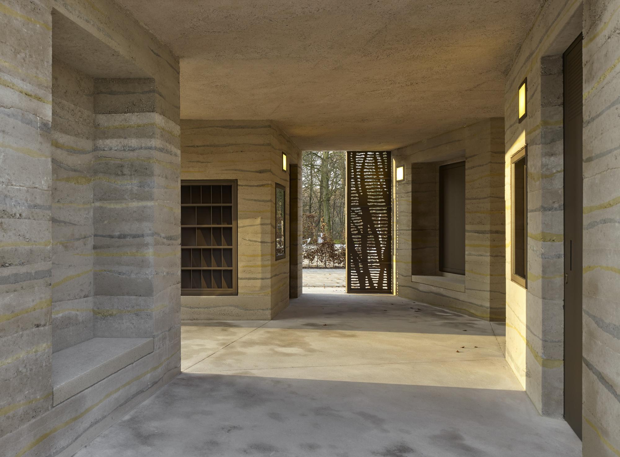 Johannisberg informatiegebouw door Max Dudler. Foto Stefan Muller