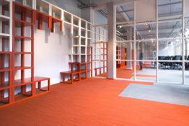 Interieur communicatiebureau door SchilderScholte Architecten