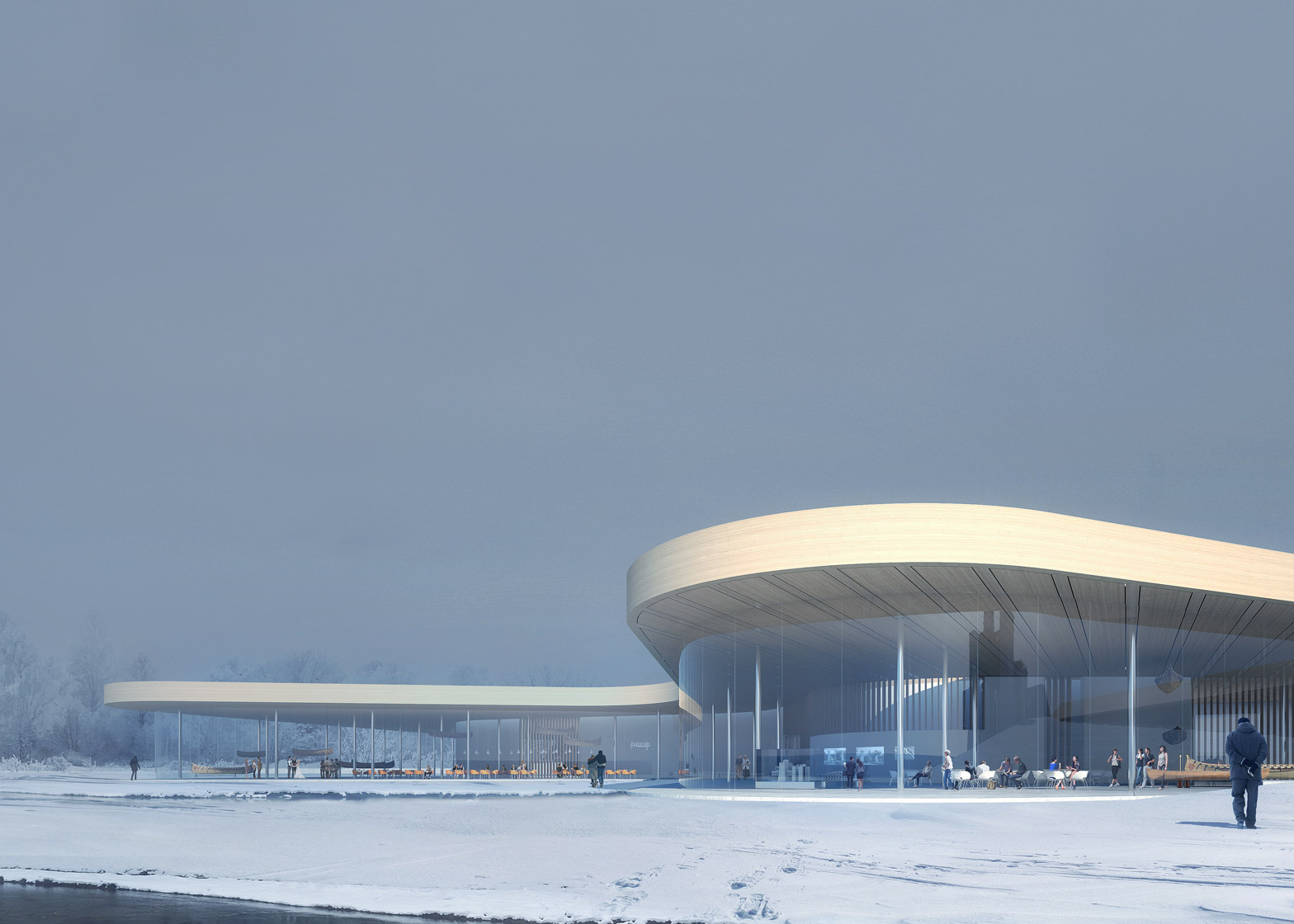 Render Ster van de Week - Kano Museum Canada door Heneghan Peng Architects
