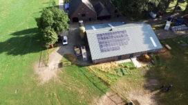 Zonne-energie helpt agrariërs bij sanering asbestdaken