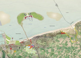 Kunstmatige eilanden voor Knokke-Heist