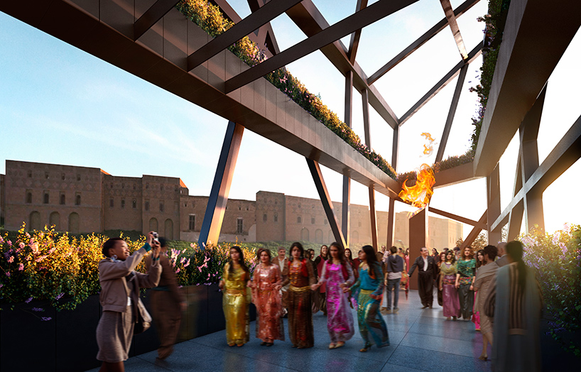 Koerdisch Museum door Daniel Libeskind render ster van de week