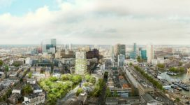 Plan voor Parkhuis Cool in Rotterdam
