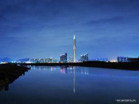 Zuid-Korea krijgt 'onzichtbare' wolkenkrabber