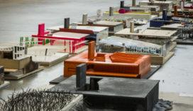 Kunsthallen in de Kunsthal-150 maquettes door studenten TU Delft