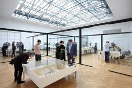 XML ontwerpt Mansholt tentoonstelling in Bureau Europa
