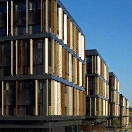 Het Lalux hoofdkantoor in Luxemburg