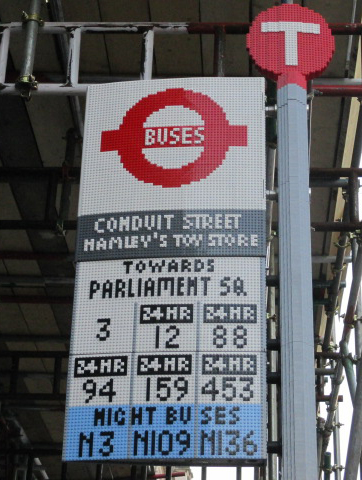 Lego Bus Halte Londen Blog Astrid de Wilde