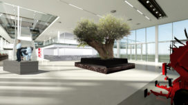 Interieur Lely Campus
