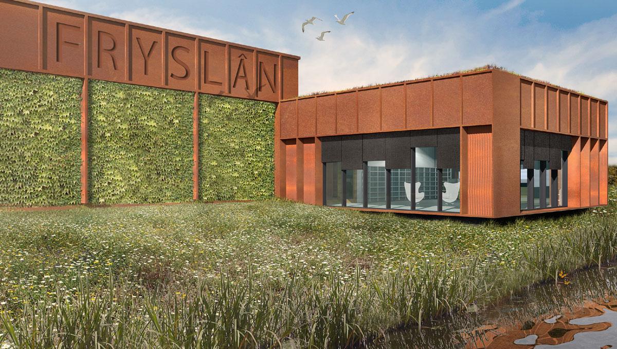 LEV Kolleksjesintrum Fryslan Leeuwarden duurzaam museumdepot