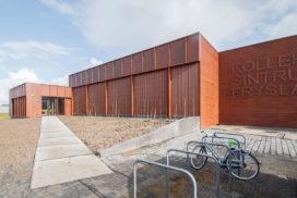 Kolleksjesintrum Fryslân in Leeuwarden door LEVS architecten