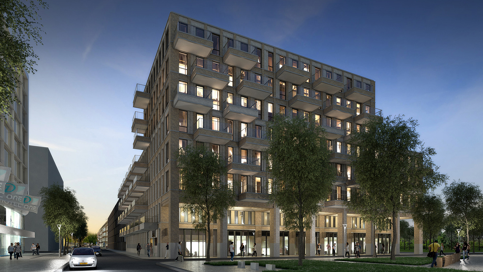 Square Amsterdam LEVS Architecten